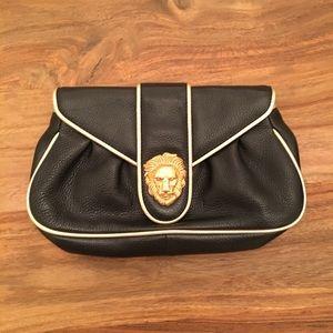 Dooney & Bourke black leather clutch